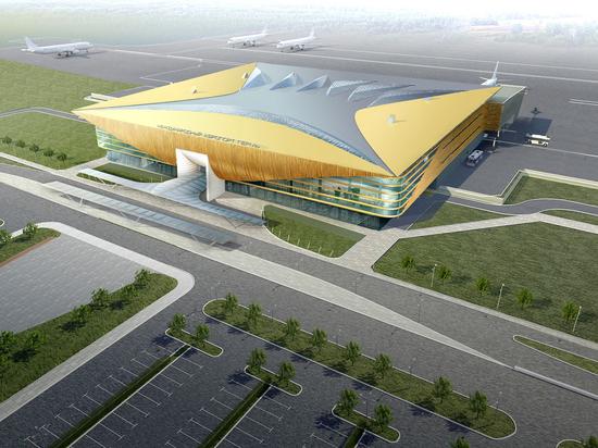 Работы построительству пермского аэропорта идут сопережением графика— Максим Решетников