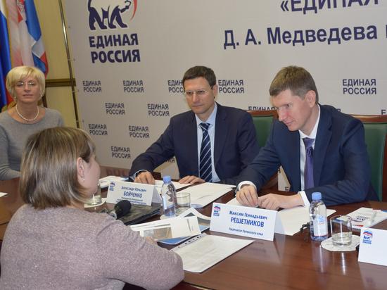 Губернатор Пермского края Максим Решетников провел прием граждан по личным вопросам