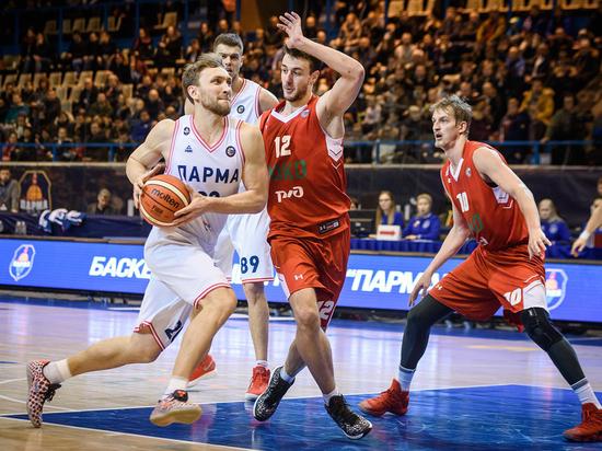 «ПАРМА» провела первую игру в рамках четвертьфинала Кубка России